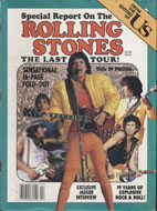 Special Report on The Rolling Stones Last Tour Magazine