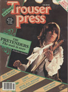Trouser Press Vol. 8 No. 9 Magazine