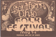 Southern Ohio Folk Festival Program