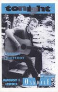 Gordon Lightfoot Program