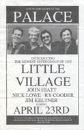 Little Village Handbill