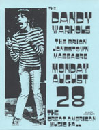 The Dandy Warhols Handbill