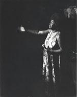 Sarah Vaughan Vintage Print