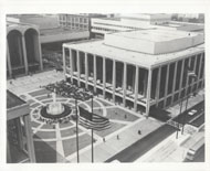Lincoln Center For Performing Arts Vintage Print