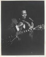 B.B. King Vintage Print