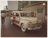 Ford Woody Vintage Print
