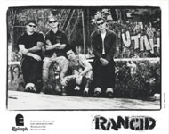 Rancid Promo Print