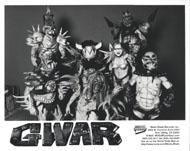 GWAR Promo Print