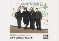 Stiff Little Fingers Promo Print