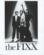The Fixx Promo Print