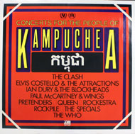 Concerts For The People of Kampuchea Poster