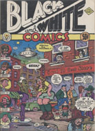 Black And White Comics Comic Book