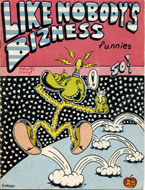 Like Nobody's Bizness Funnies Comic Book
