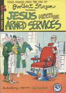 Jesus Meets The Armed Services Comic Book