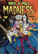 rock 'n' roll madness funnies No. 1 Comic Book