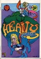 Heavy Tragi-Comics Comic Book