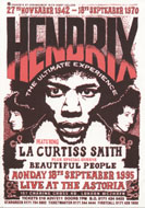 Hendrix: The Ultimate Experience Handbill