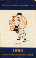 Mets vs. Giants Program