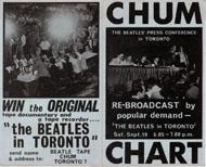 Chum Chart Handbill