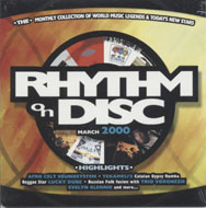 Rhythm On Disc CD