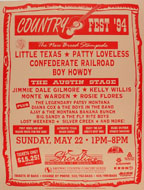 Country Fest '94 Poster