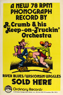 R. Crumb & His Keep-On-Truckin' Orchestra Poster