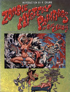 Zombie Mystery Paintings Book