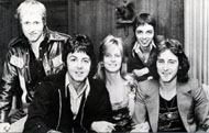 Paul McCartney & Wings Postcard