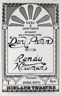 Dory Previn Poster