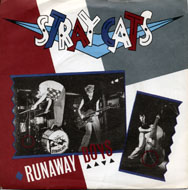 """Stray Cats Vinyl 7"""" (Used)"""
