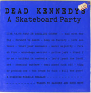 "Dead Kennedys Vinyl 12"" (New)"