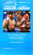 Hagler vs Duran Poster
