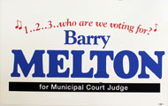 Barry Melton Poster