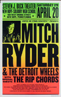 Mitch Ryder and the Detroit Wheels Poster