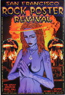 San Francisco Rock Poster Revival Poster