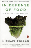 In Defense Of Food Book