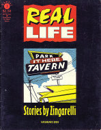 Real Life: Stories by Zingarelli Number 1 Comic Book
