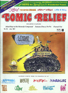 Comic Relief Vol. 3 No. 25 Comic Book