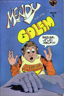 Mendy And The Golem Vol. 1 No. 2 Comic Book