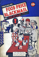 The Case Of Food Price Blackmail Comic Book