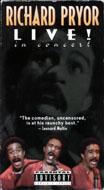Richard Pryor: Live! In Concert VHS