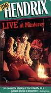 Jimi Hendrix: Live At Monterey VHS