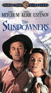 The Sundowners VHS