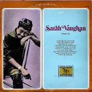 """Sarah Vaughan Vinyl 12"""" (Used)"""