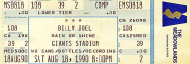 Billy Joel Vintage Ticket