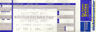 Backstreet Boys Vintage Ticket