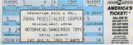 Alice Cooper Vintage Ticket