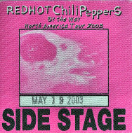 Red Hot Chili Peppers Backstage Pass