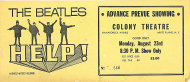 The Beatles Vintage Ticket