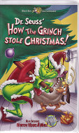 How The Grinch Stole Christmas! VHS